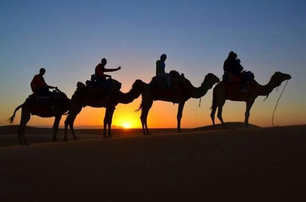 4 days desert tour from Marrakech t Merzouga desert
