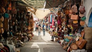 Market, Morocco traditions